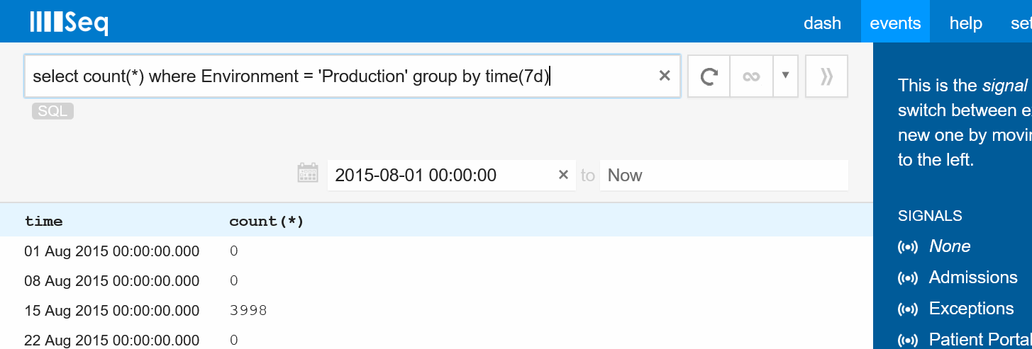 Aggregate Query Preview